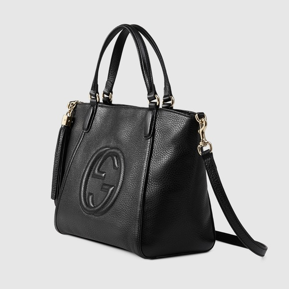 a6e38ada776027 Gucci Bags | Soho Leather Top Handle Bag | Poshmark